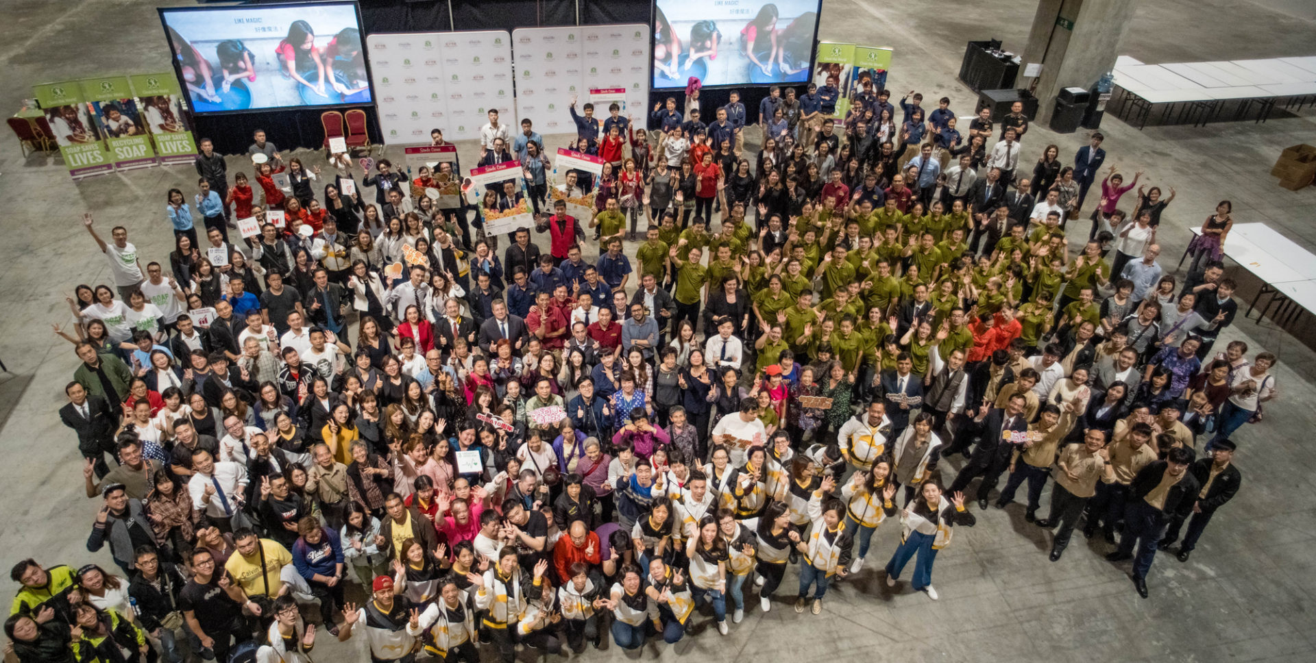 Sanda China and Clean the World Asia - Charity event in Macau
