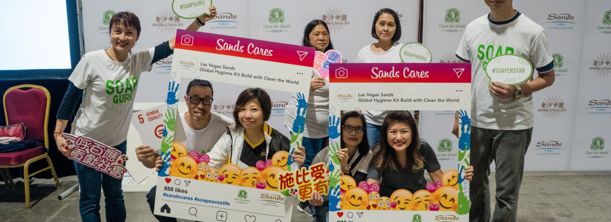 Sanda China and Clean the World Asia - Charity event in Macau
