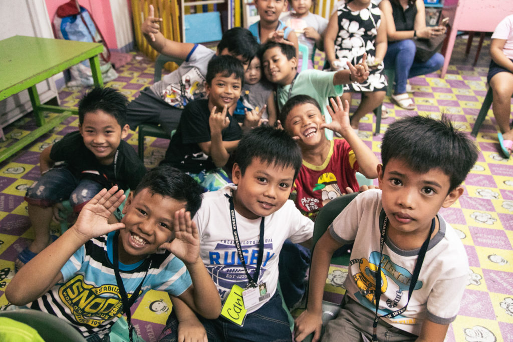 WASH program for children in the Philippines