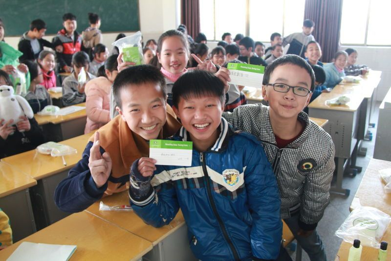 Clean the World Asia - Charity beneficiaries in China