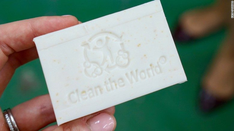 Soap with Dignity with Clean the World Asia