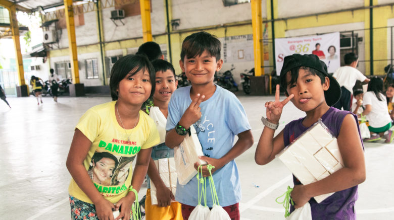 Charity beneficiaries - Children International and Clean the World Asia