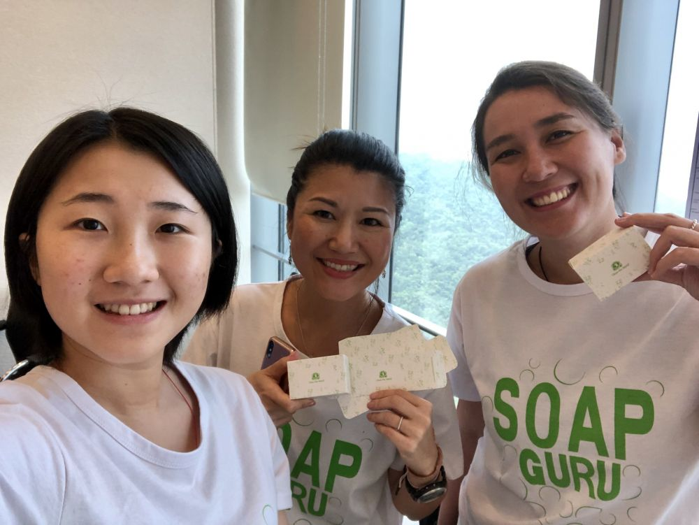 Soap Gurus - spreading good hygiene at Clean the World Asia