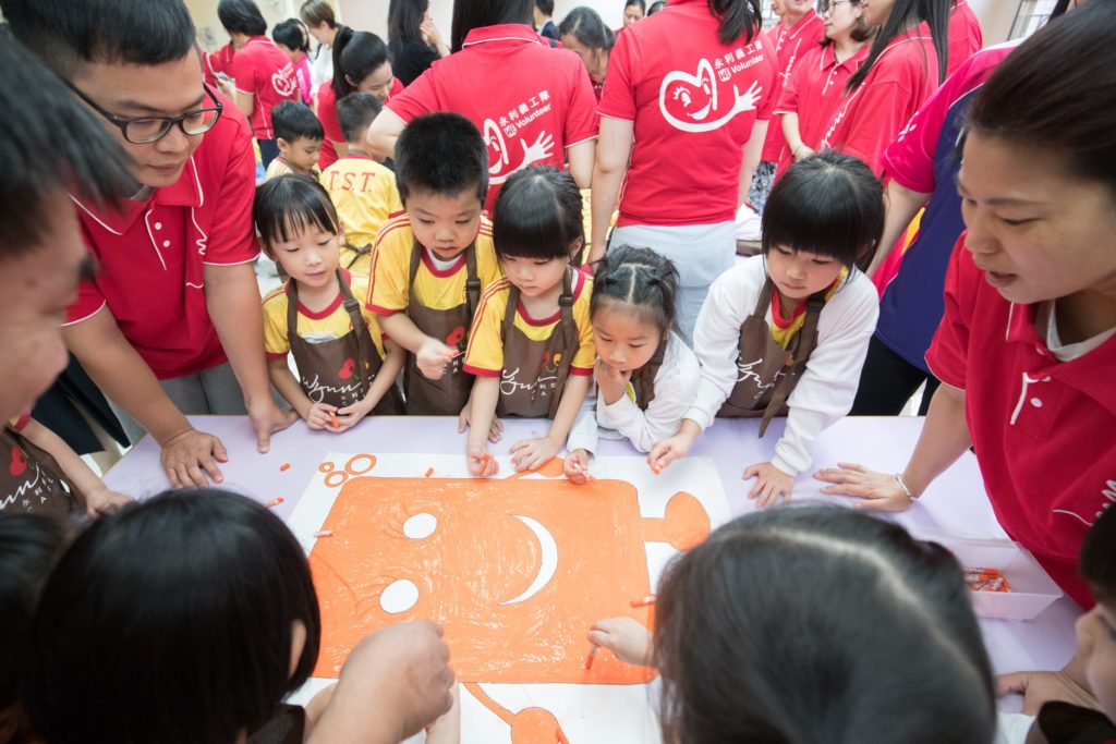 Macau school activities with charity Clean the World Asia - Global Handwashing Day 2019
