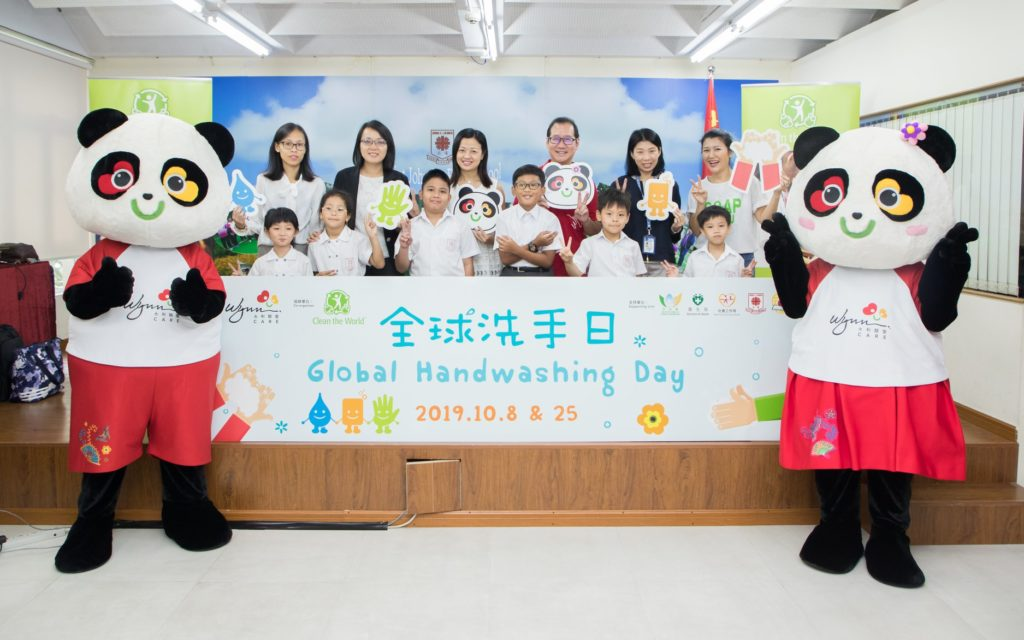 Global Handwashing Day 2019 - Clean the World Asia and Wynn Care