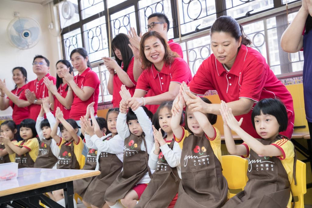 Macau school collaboration with charity Clean the World Asia with Wynn Care