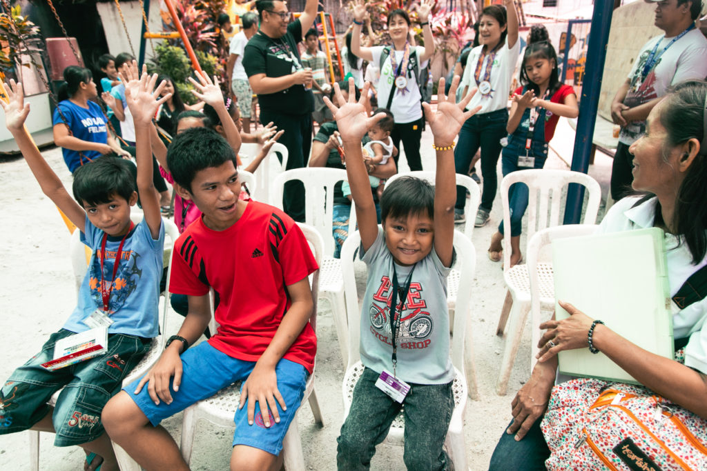Hygiene Education for Children - Clean the World Asia in the Philippines