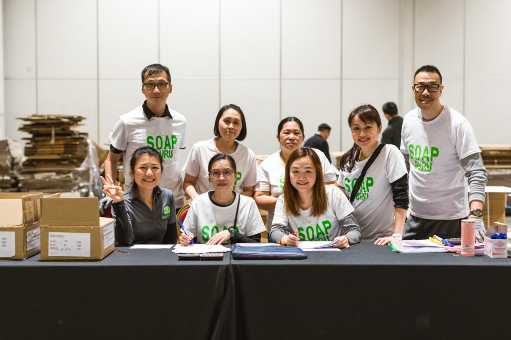 Volunteers and Staff of Clean the World Asia