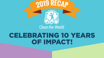 Clean the World - 2019 Recap Infographic