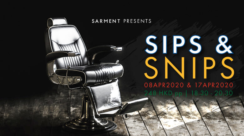 Sips and Snips - Wine Tasting Charity Events April 2020